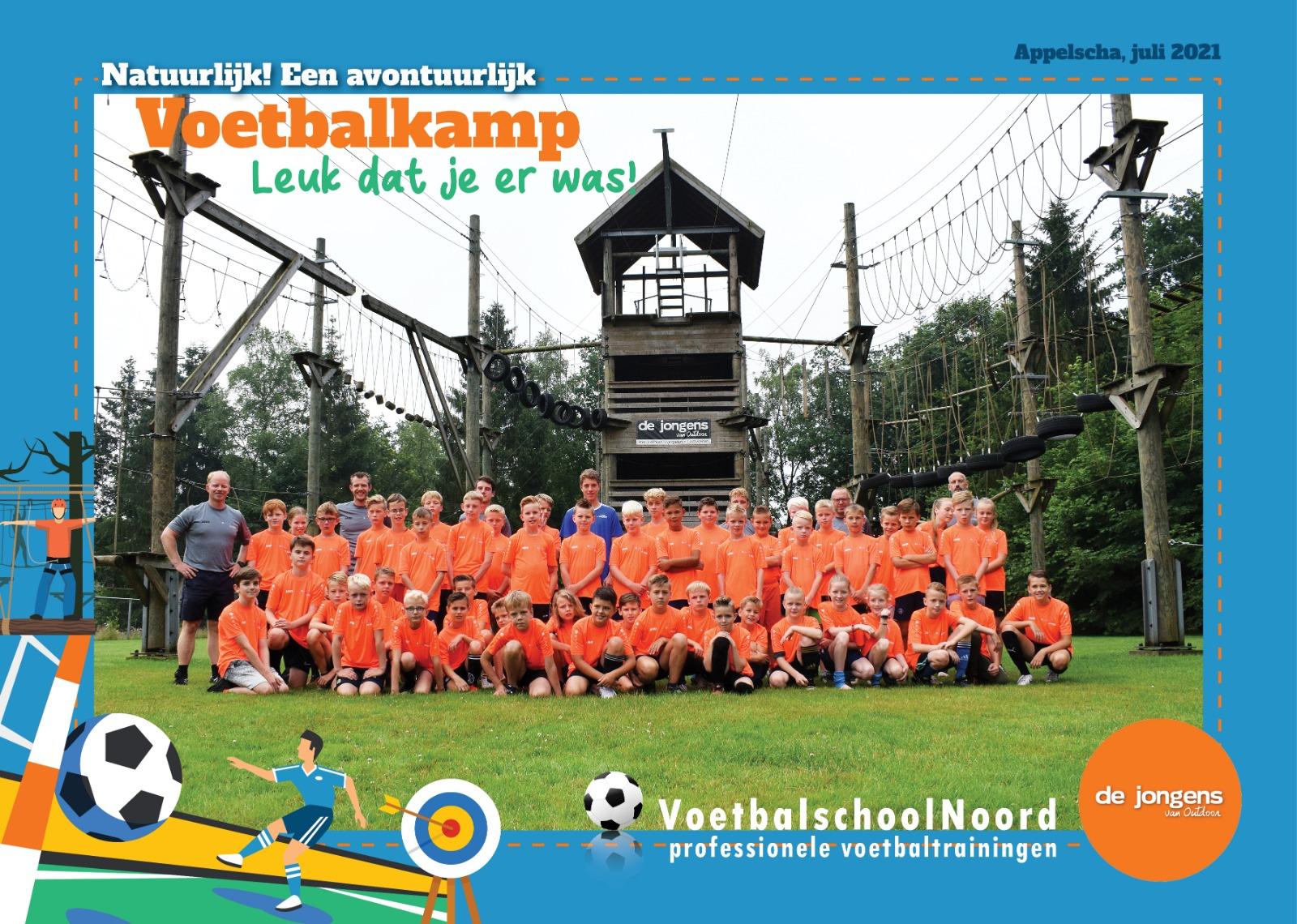 Voetbalkamp 12-14 juli 2021